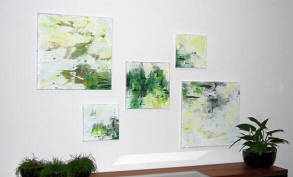 Stijlvolle olieverfschilderijen op maat