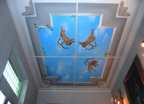 Muurschilderingen plafonds