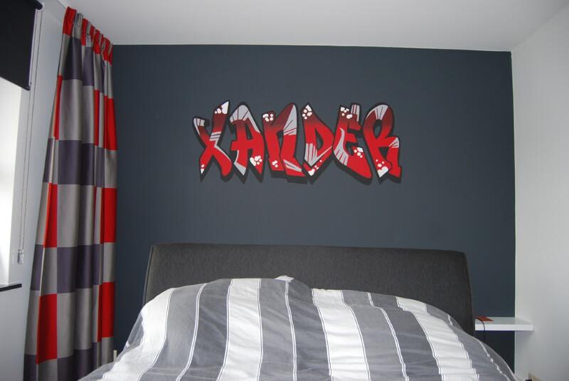 grafitti-schildering