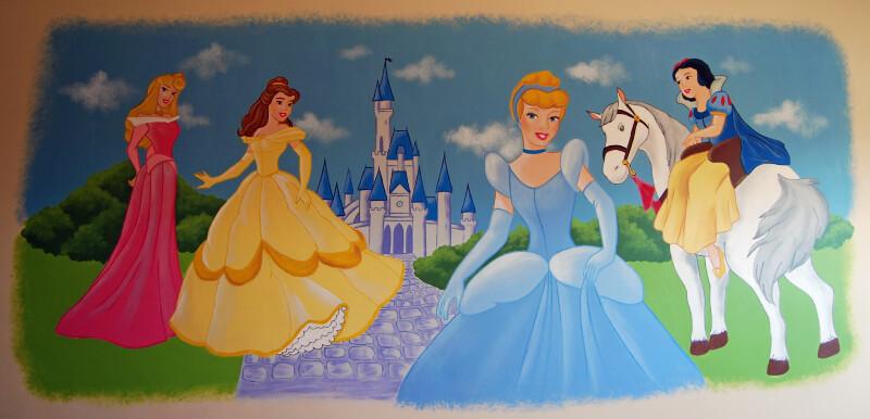 muurschildering-prinsessen