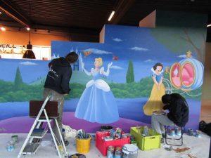 muurschildering-paskamer