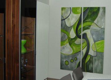 Betoverend schilderij voor op de slaapkamer lizart
