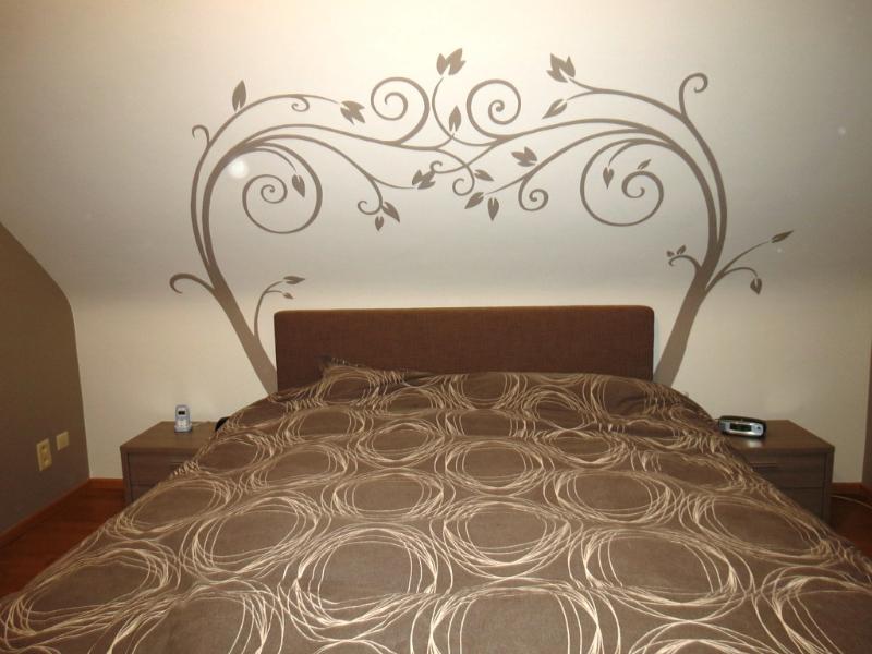 Muurschilderingen Voor Slaapkamer : Decoratieve muurschildering slaapkamer boog lizart