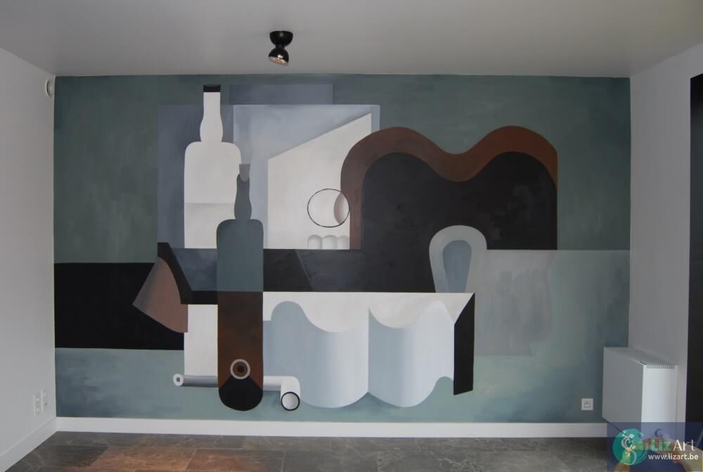muurschildering-abstract-figuratief