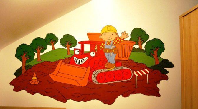 muurschildering-bob-de-bouwer