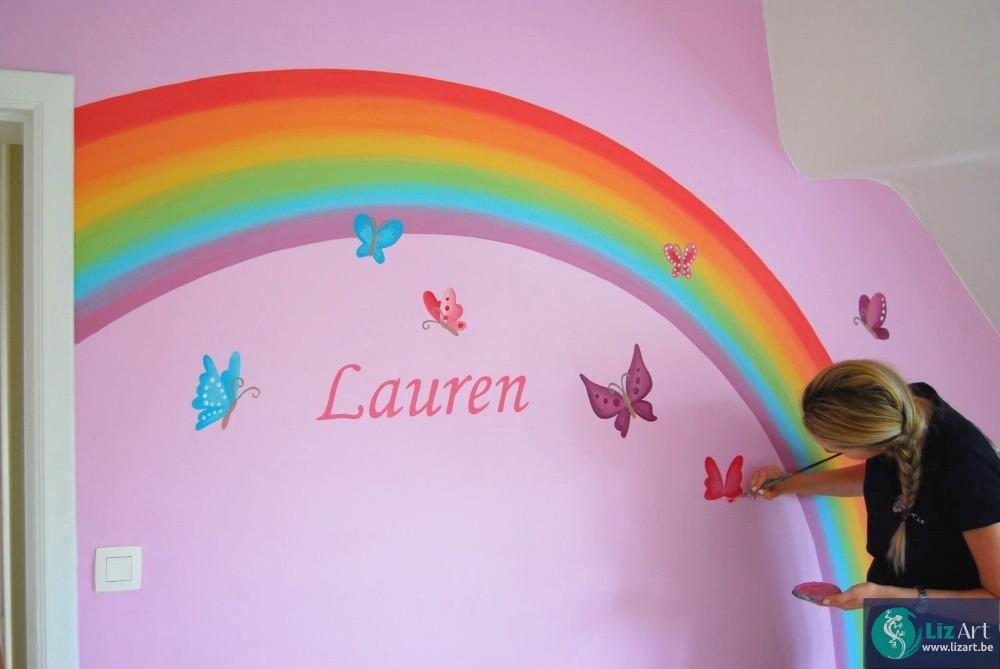 Kinderkamer Vlinder Compleet : Decoratie kinderkamer fantasie op de loop lizart
