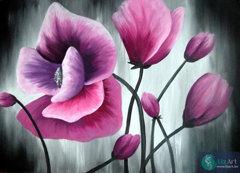 schilderij-bloemen