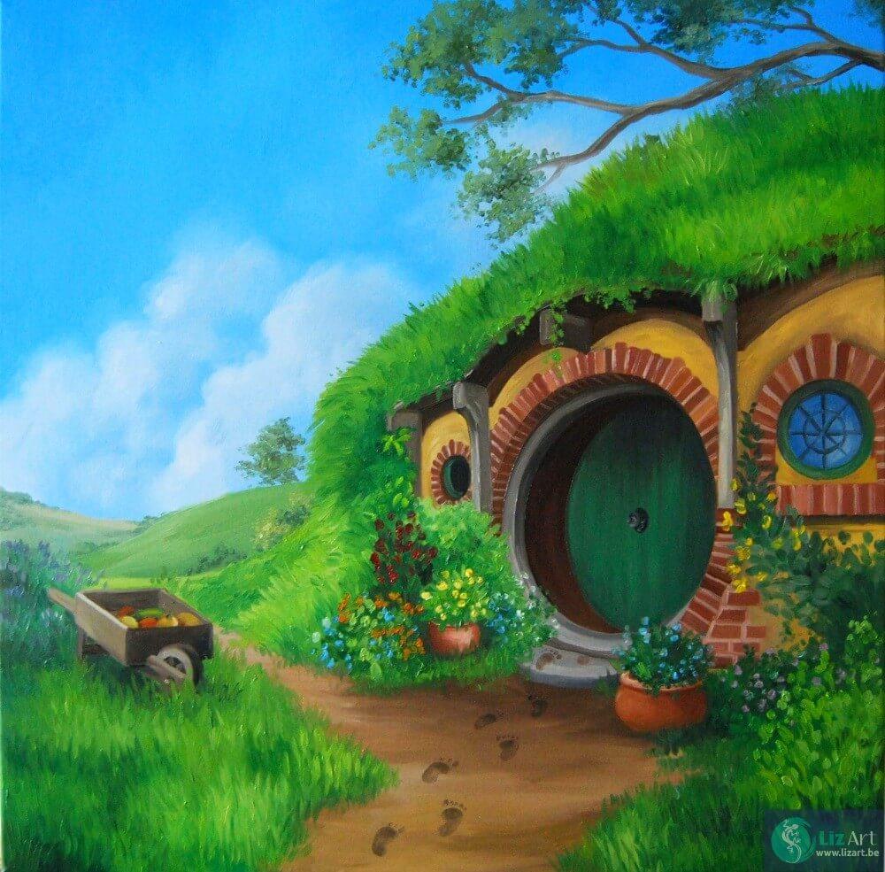 schilderij-thehobbit