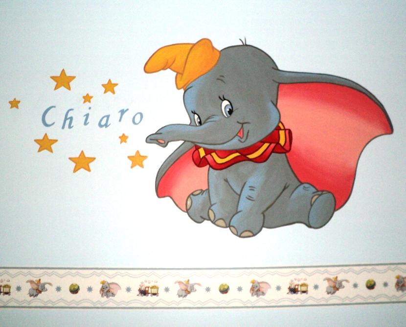 Kinderkamer disney favoriete personages op de muren lizart for Kinderkamer versiering